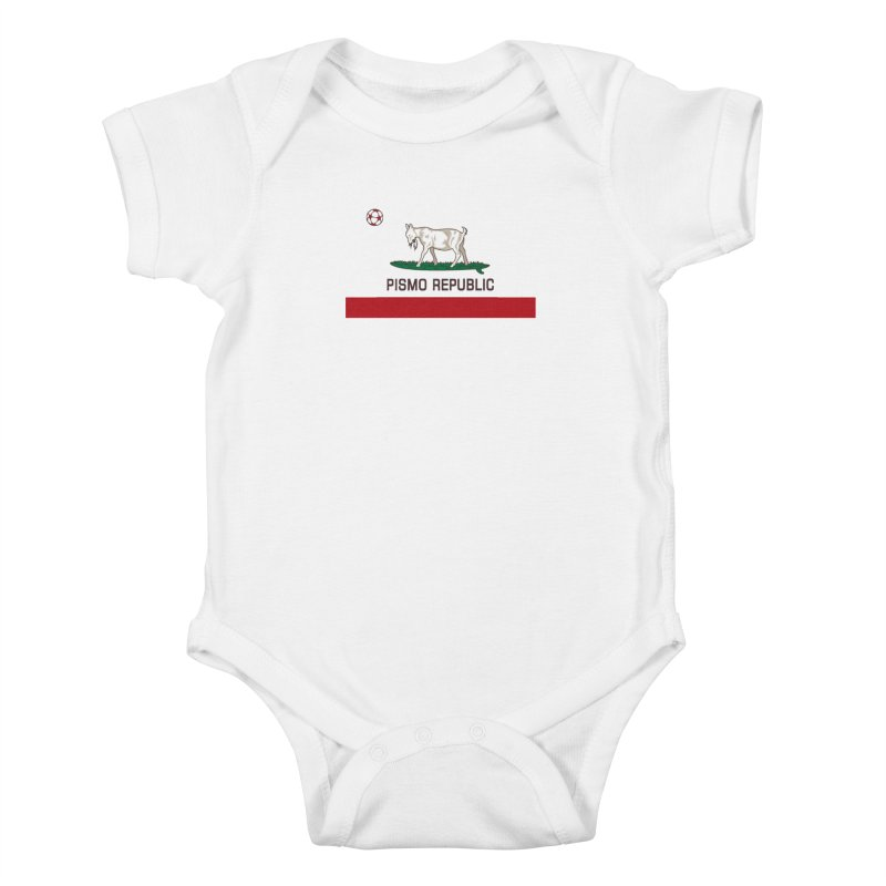 Pismo Republic Kids Baby Bodysuit by ishCreatives's Artist Shop