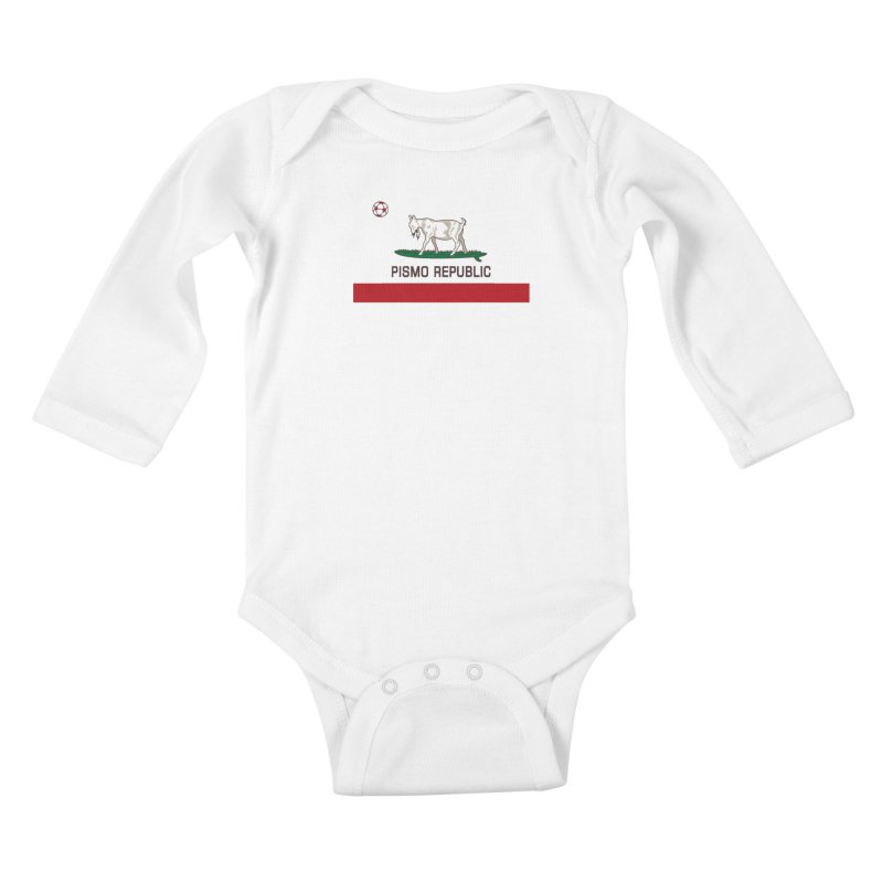 Pismo Republic Kids Baby Longsleeve Bodysuit by ishCreatives's Artist Shop