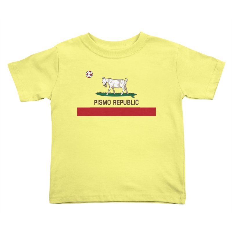 Pismo Republic Kids Toddler T-Shirt by ishCreatives's Artist Shop
