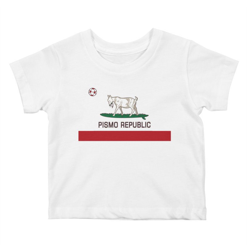 Pismo Republic Kids Baby T-Shirt by ishCreatives's Artist Shop