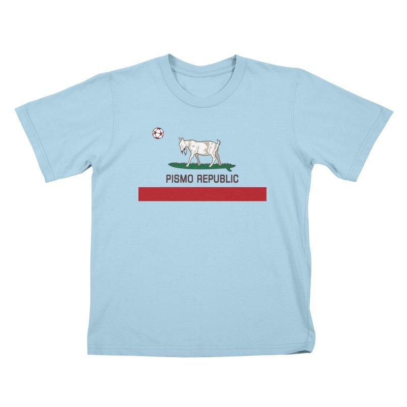 Pismo Republic Kids T-Shirt by ishCreatives's Artist Shop