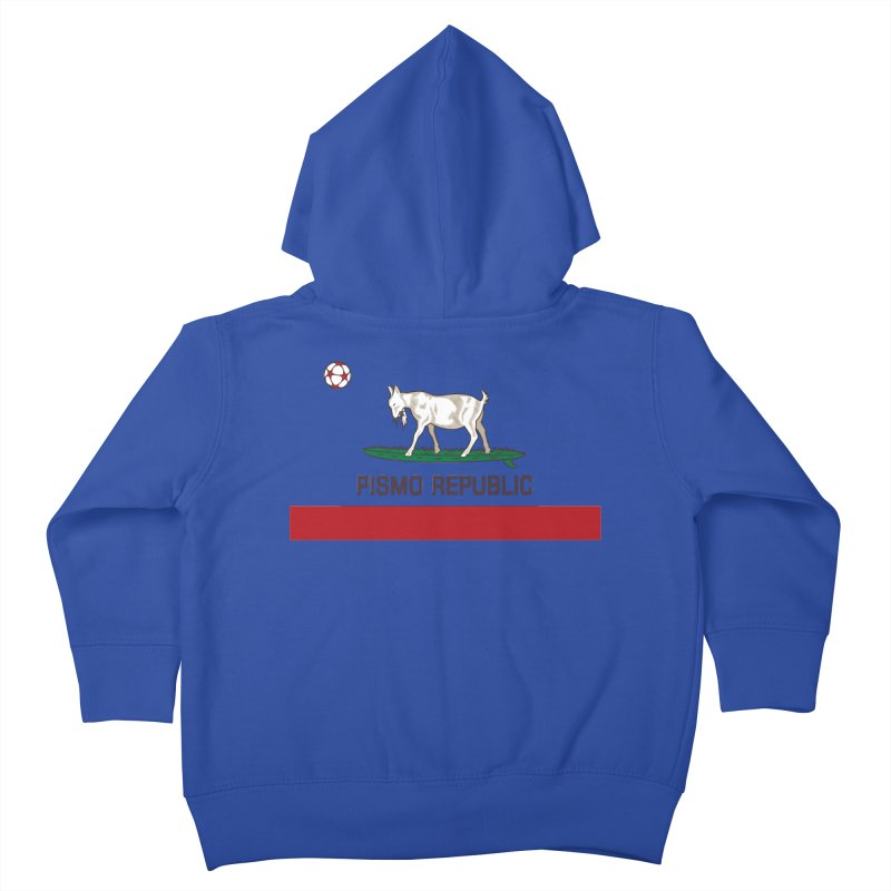 Pismo Republic Kids Toddler Zip-Up Hoody by ishCreatives's Artist Shop