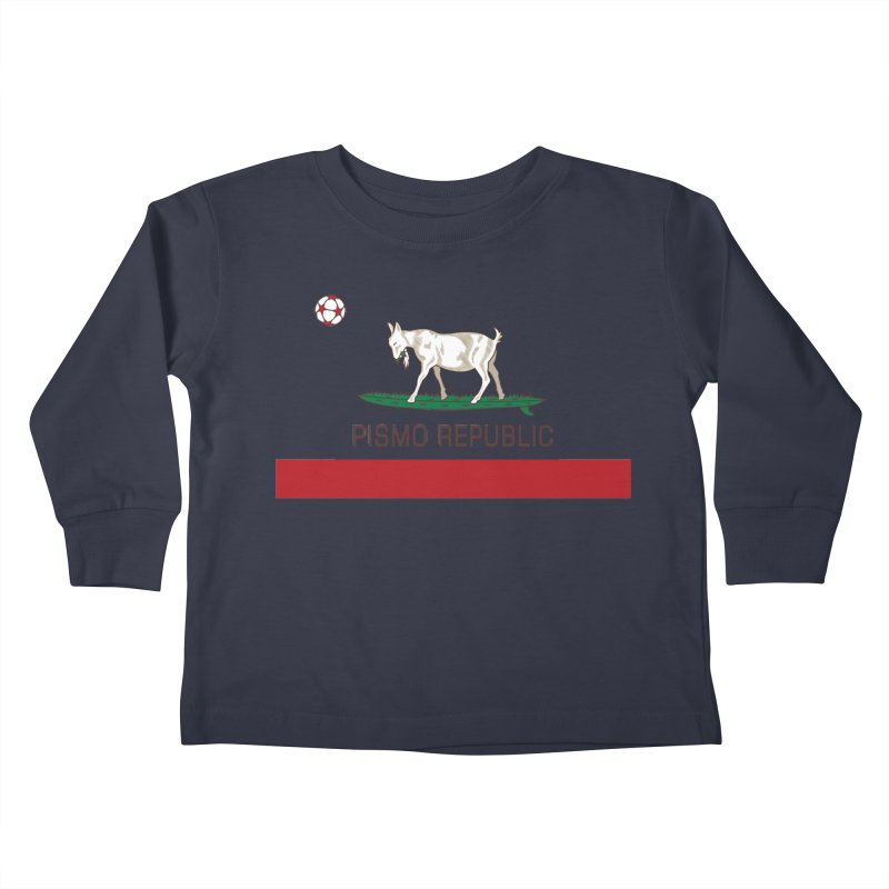 Pismo Republic Kids Toddler Longsleeve T-Shirt by ishCreatives's Artist Shop