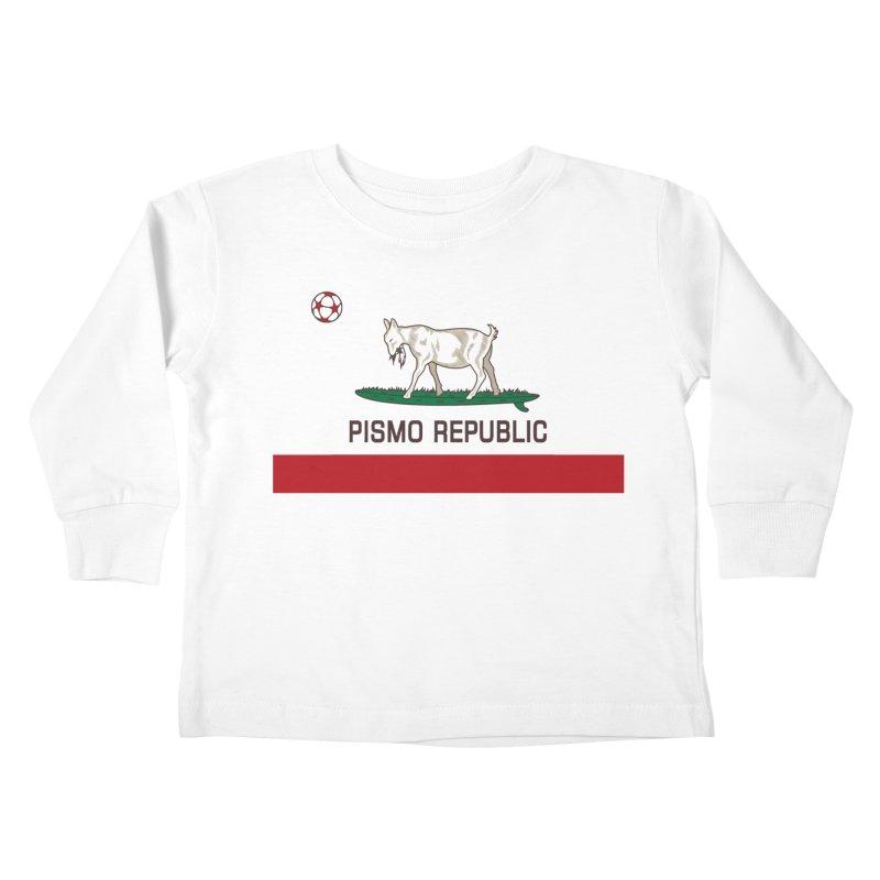 Pismo Republic Kids Toddler Longsleeve T-Shirt by ishCreatives's Artist Shop
