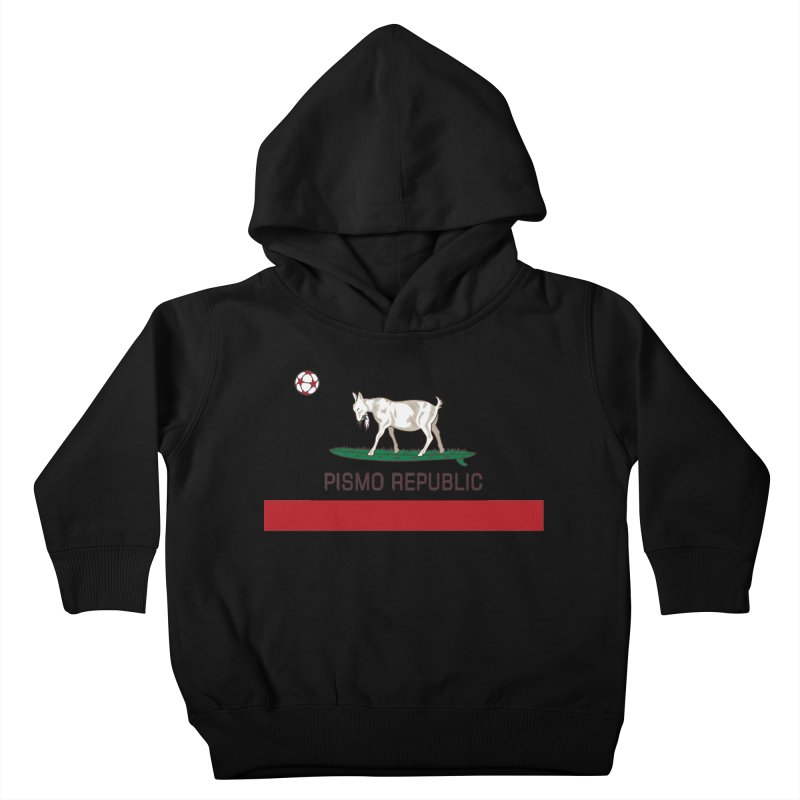 Pismo Republic Kids Toddler Pullover Hoody by ishCreatives's Artist Shop