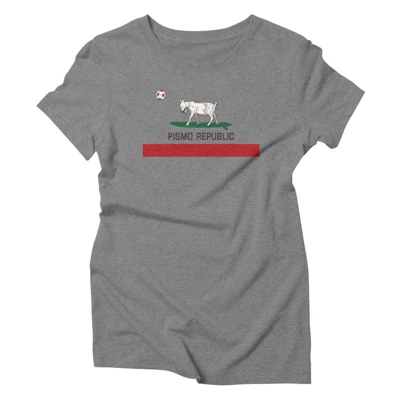 Pismo Republic Women's Triblend T-Shirt by ishCreatives's Artist Shop