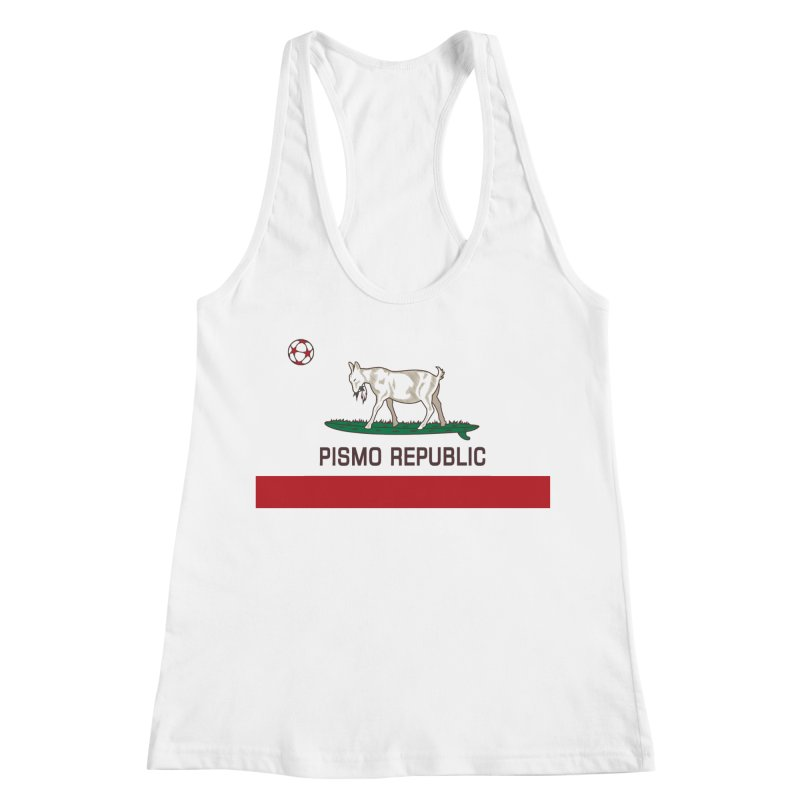 Pismo Republic Women's Racerback Tank by ishCreatives's Artist Shop