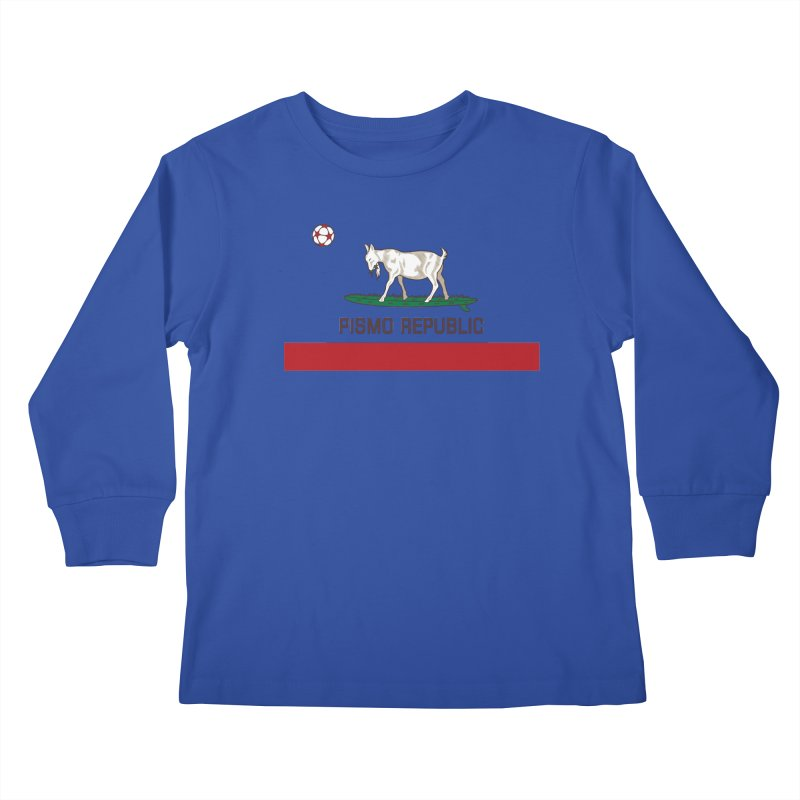 Pismo Republic Kids Longsleeve T-Shirt by ishCreatives's Artist Shop