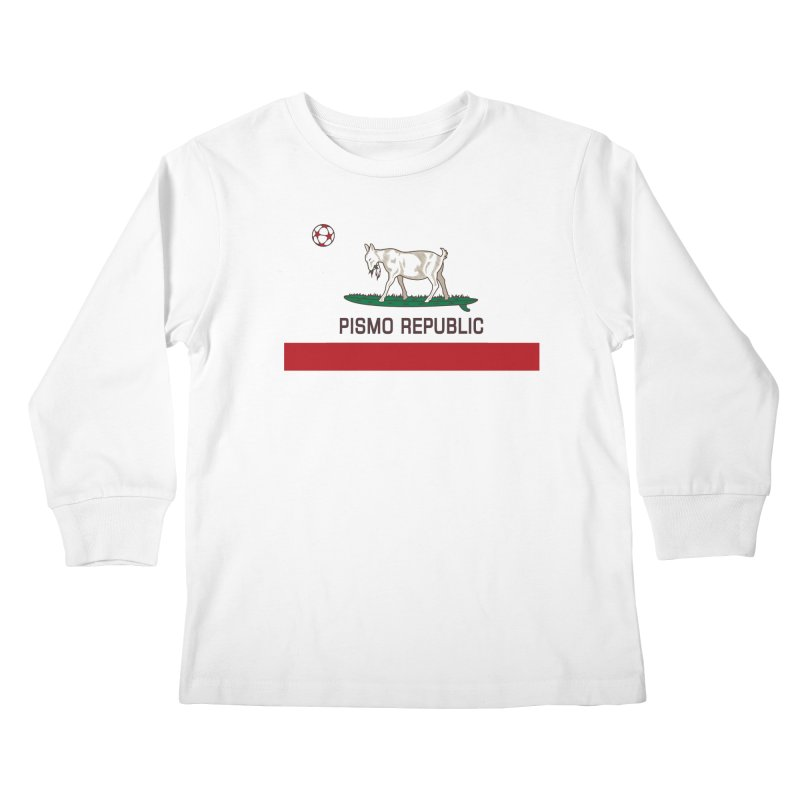 Pismo Republic Kids Longsleeve T-Shirt by ishCreatives's Artist Shop