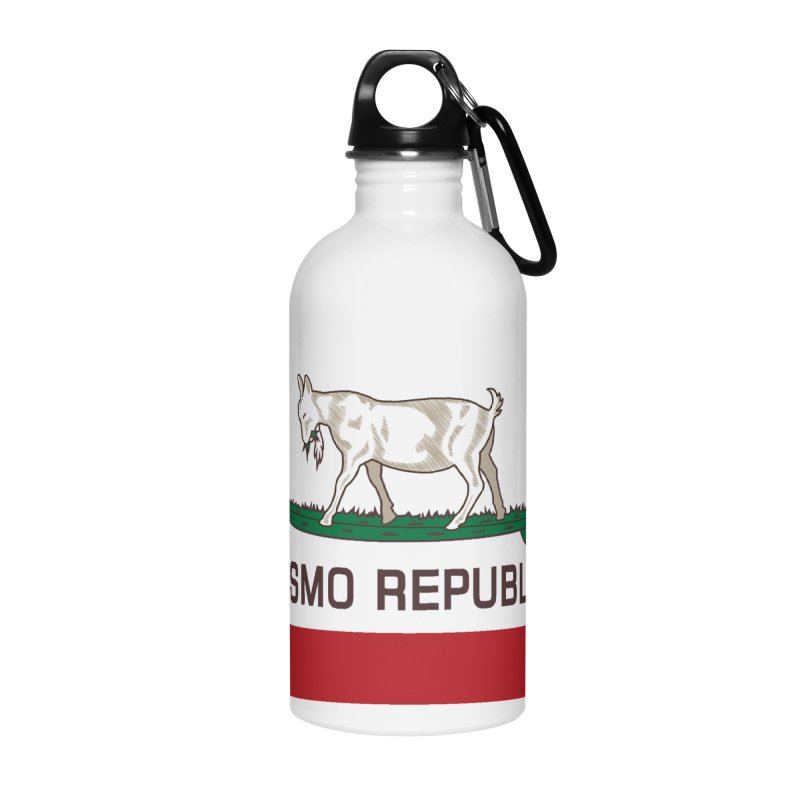 Pismo Republic Accessories Water Bottle by ishCreatives's Artist Shop