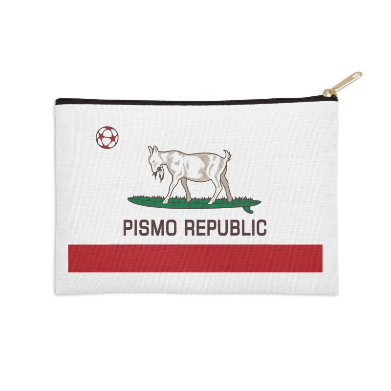 Pismo Republic Accessories Zip Pouch by ishCreatives's Artist Shop