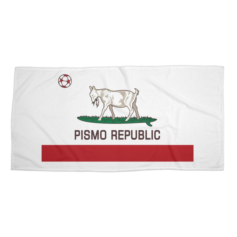 Pismo Republic Accessories Beach Towel by ishCreatives's Artist Shop