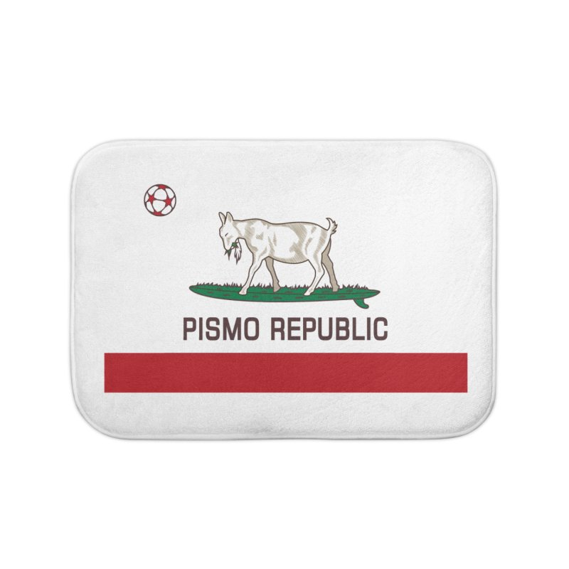 Pismo Republic Home Bath Mat by ishCreatives's Artist Shop