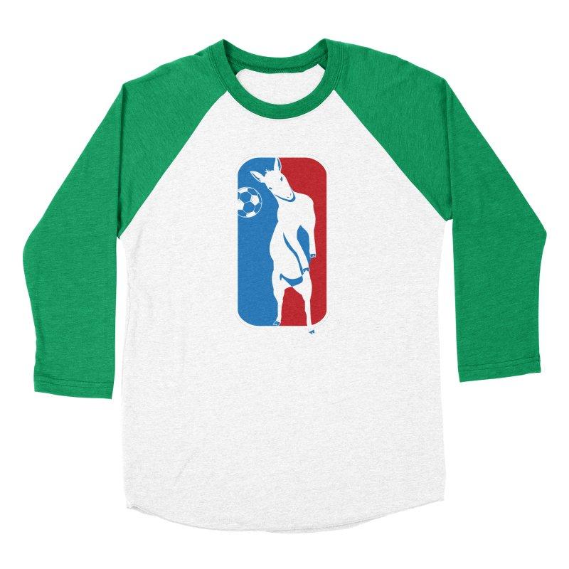 Hoofball Women's Baseball Triblend Longsleeve T-Shirt by ishCreatives's Artist Shop
