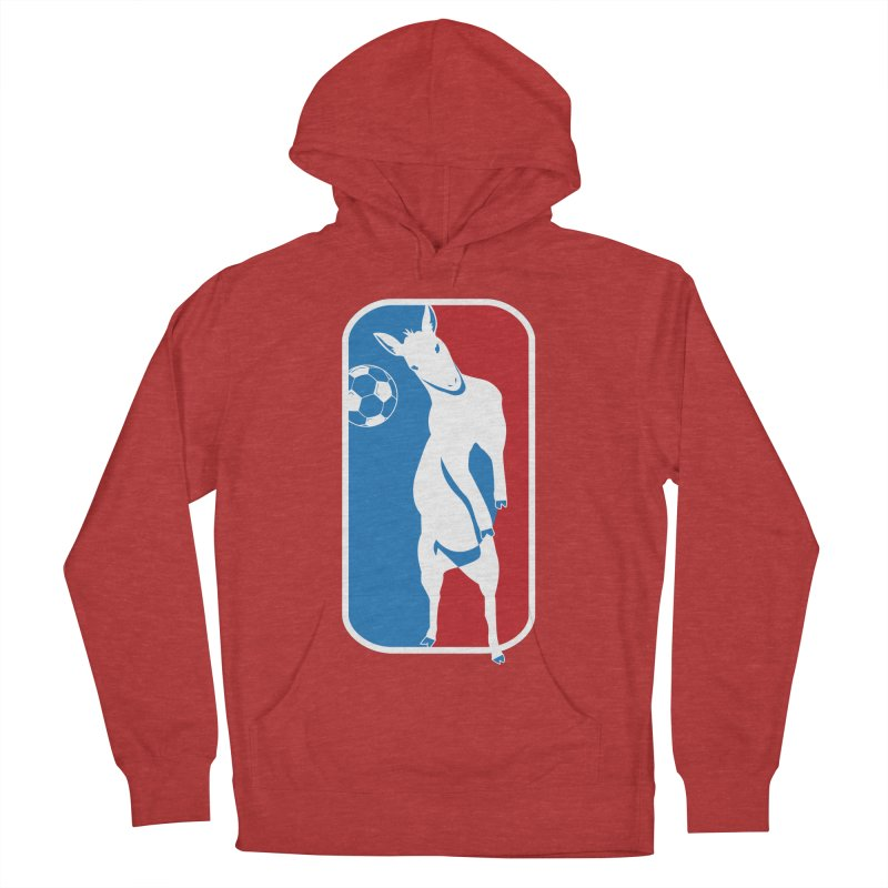 Hoofball Men's French Terry Pullover Hoody by ishCreatives's Artist Shop