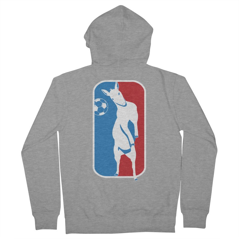 Hoofball Men's French Terry Zip-Up Hoody by ishCreatives's Artist Shop