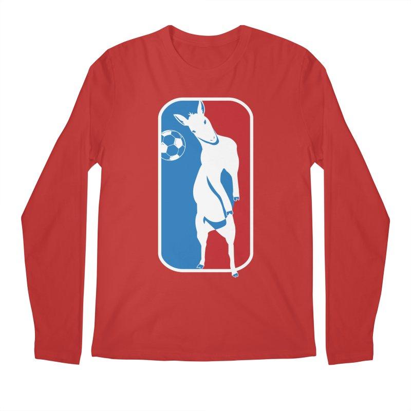 Hoofball Men's Regular Longsleeve T-Shirt by ishCreatives's Artist Shop