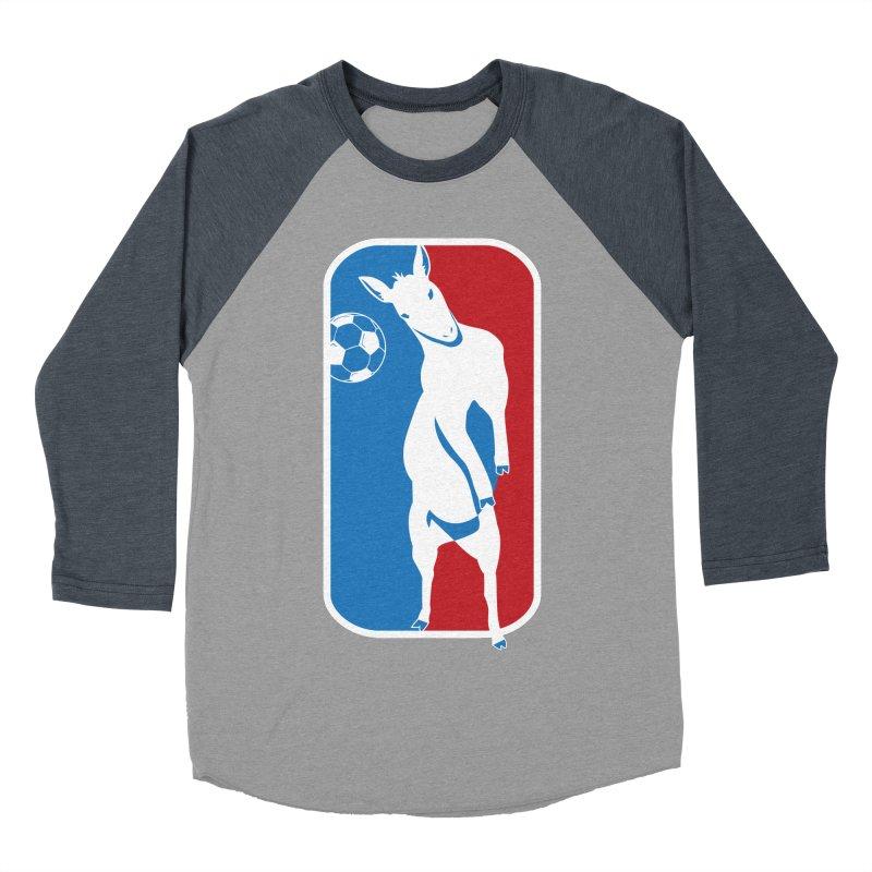 Hoofball Men's Baseball Triblend Longsleeve T-Shirt by ishCreatives's Artist Shop