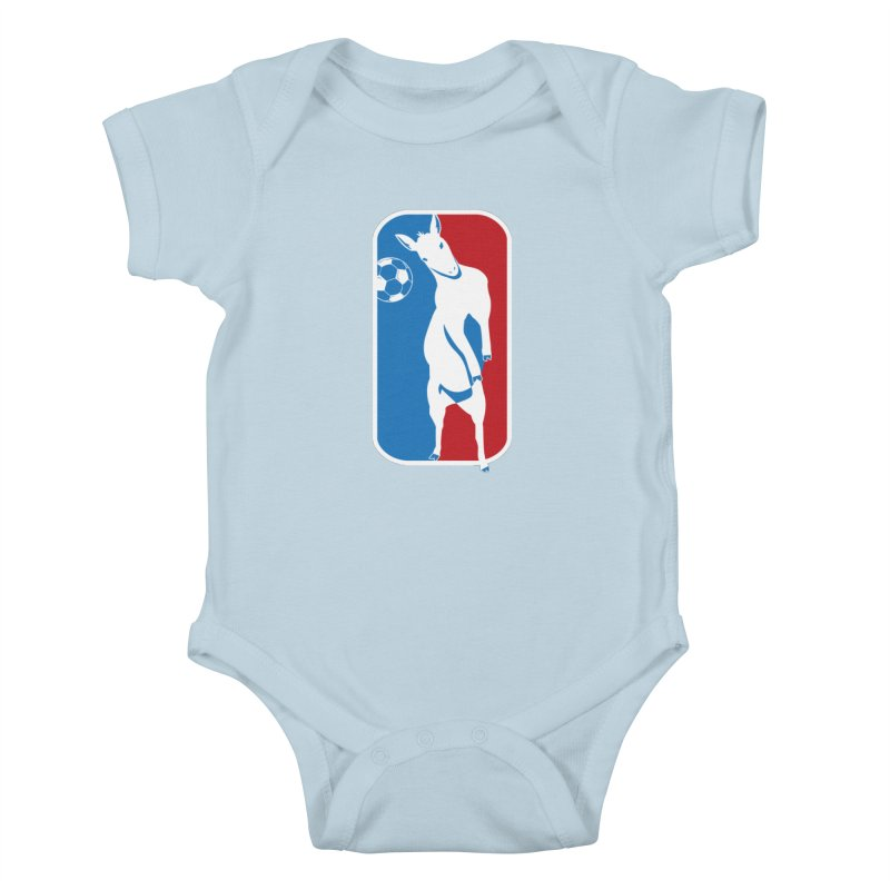 Hoofball Kids Baby Bodysuit by ishCreatives's Artist Shop