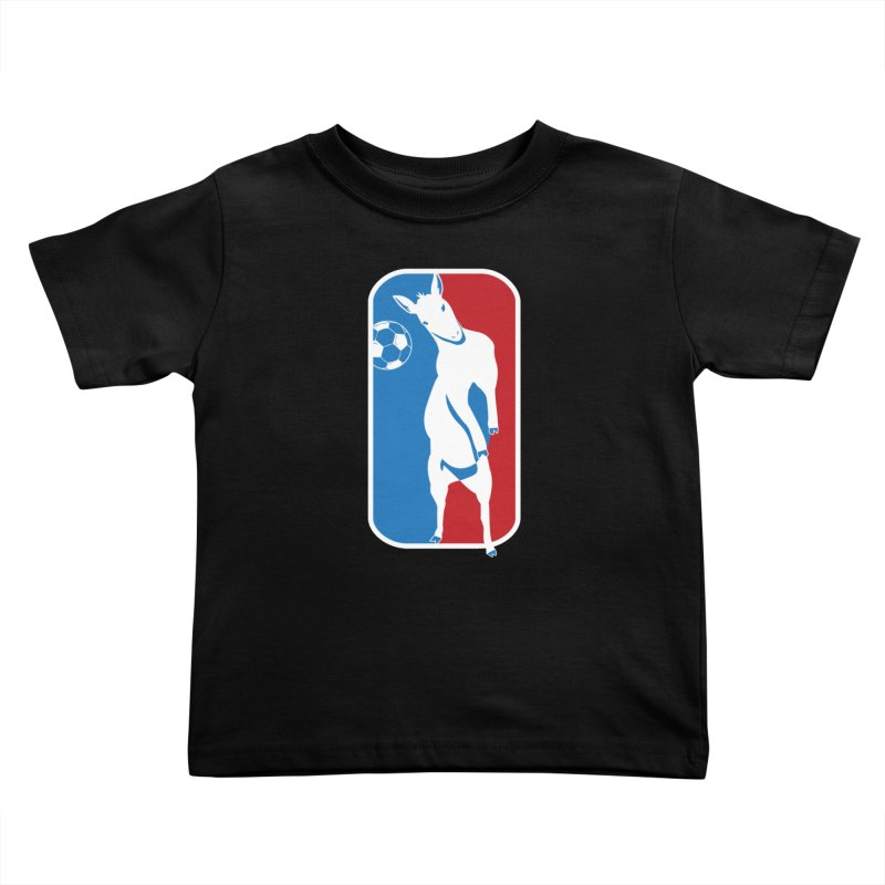 Hoofball Kids Toddler T-Shirt by ishCreatives's Artist Shop