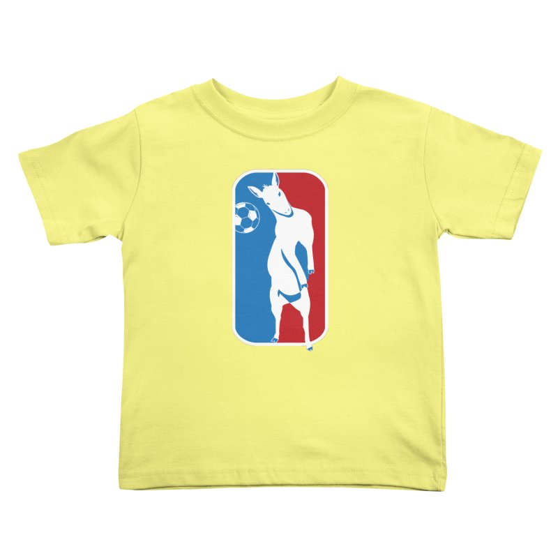 Hoofball Kids Toddler T-Shirt by ishCreatives's Artist Shop