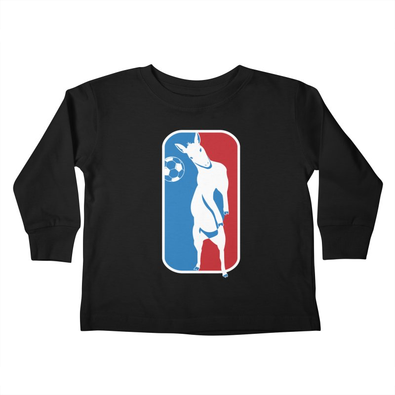 Hoofball Kids Toddler Longsleeve T-Shirt by ishCreatives's Artist Shop