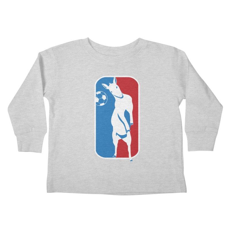 Hoofball Kids Toddler Longsleeve T-Shirt by ishCreatives's Artist Shop