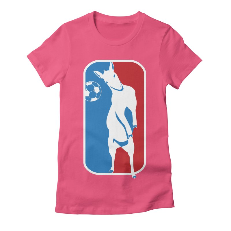 Hoofball Women's Fitted T-Shirt by ishCreatives's Artist Shop
