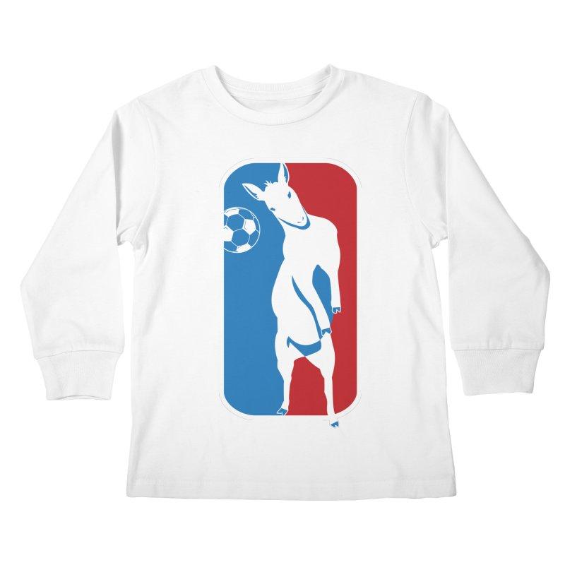 Hoofball Kids Longsleeve T-Shirt by ishCreatives's Artist Shop
