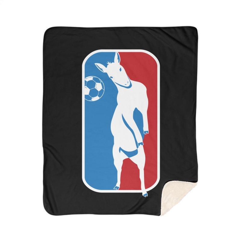 Hoofball Home Sherpa Blanket Blanket by ishCreatives's Artist Shop
