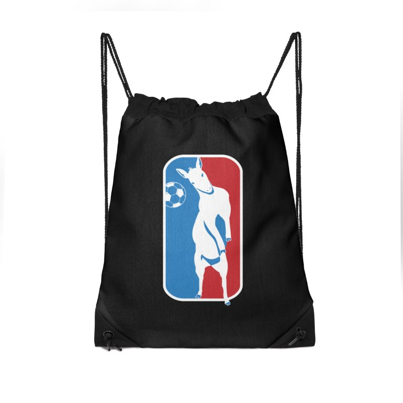 Hoofball Accessories Drawstring Bag Bag by ishCreatives's Artist Shop