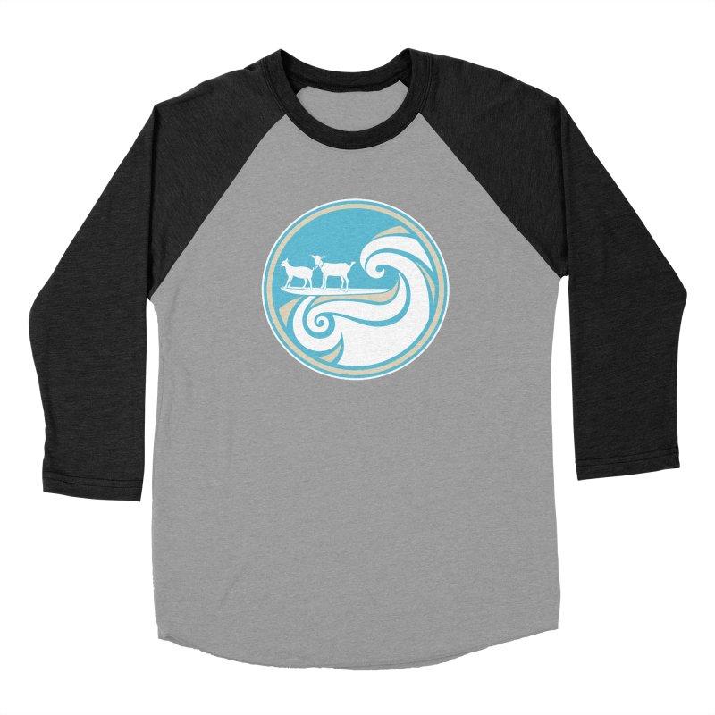 Shredding the Gnar Women's Baseball Triblend Longsleeve T-Shirt by ishCreatives's Artist Shop