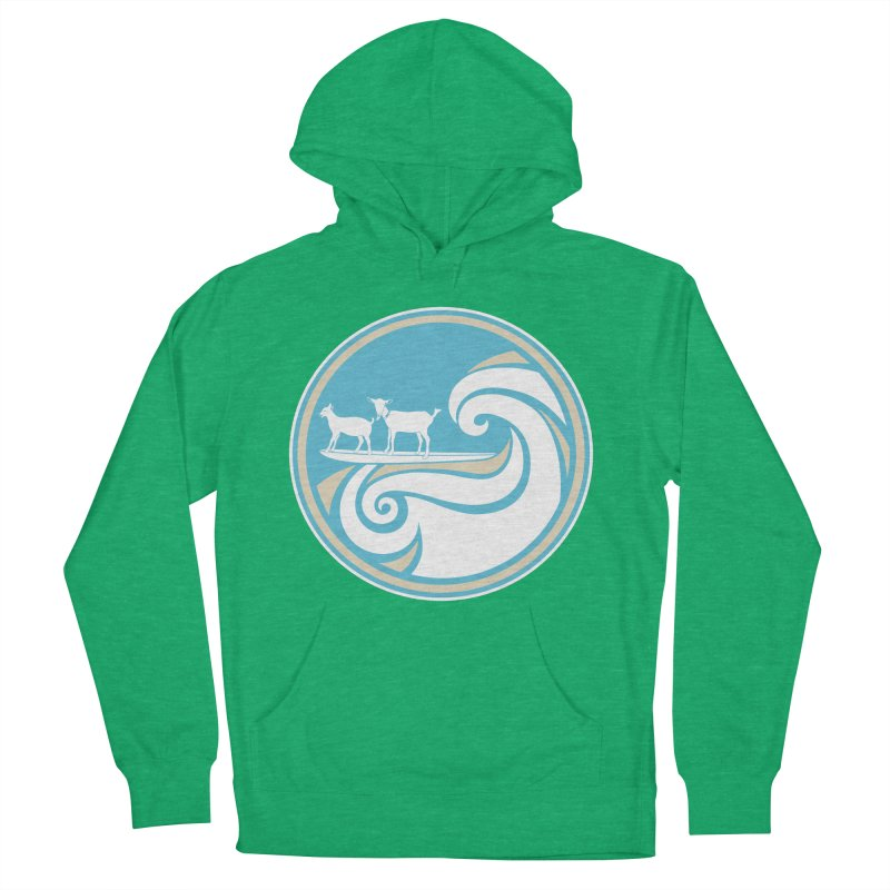 Shredding the Gnar Women's French Terry Pullover Hoody by ishCreatives's Artist Shop
