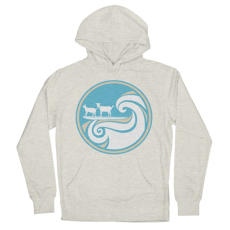 Shredding the Gnar Men's French Terry Pullover Hoody by ishCreatives's Artist Shop