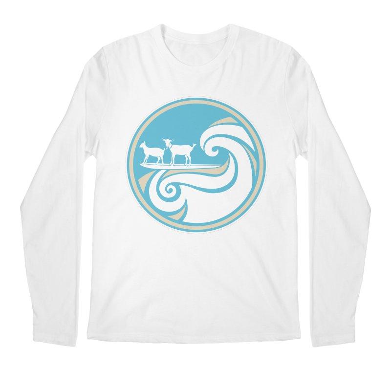 Shredding the Gnar Men's Regular Longsleeve T-Shirt by ishCreatives's Artist Shop