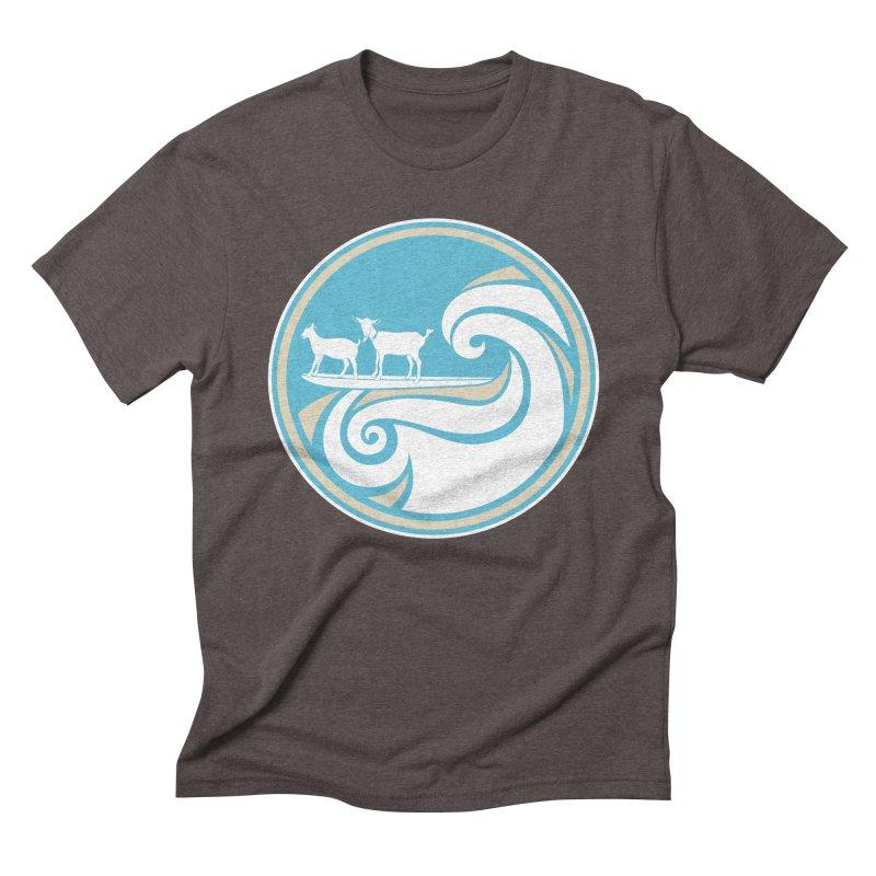 Shredding the Gnar Men's Triblend T-Shirt by ishCreatives's Artist Shop