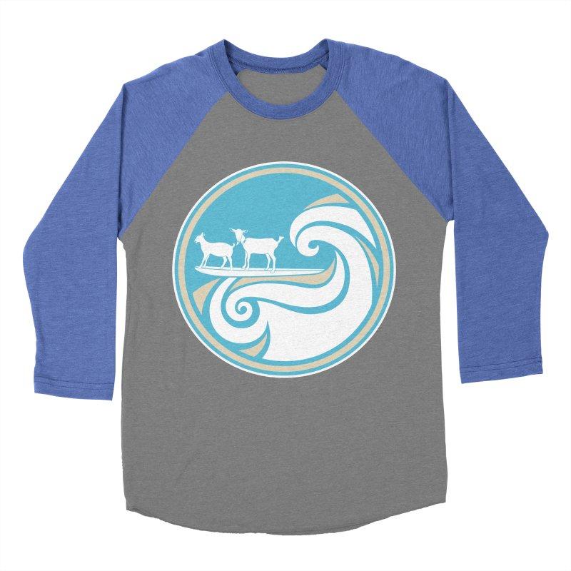 Shredding the Gnar Men's Baseball Triblend T-Shirt by ishCreatives's Artist Shop