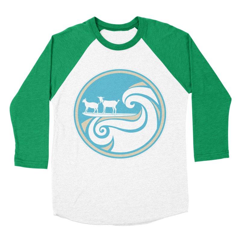 Shredding the Gnar Men's Baseball Triblend Longsleeve T-Shirt by ishCreatives's Artist Shop