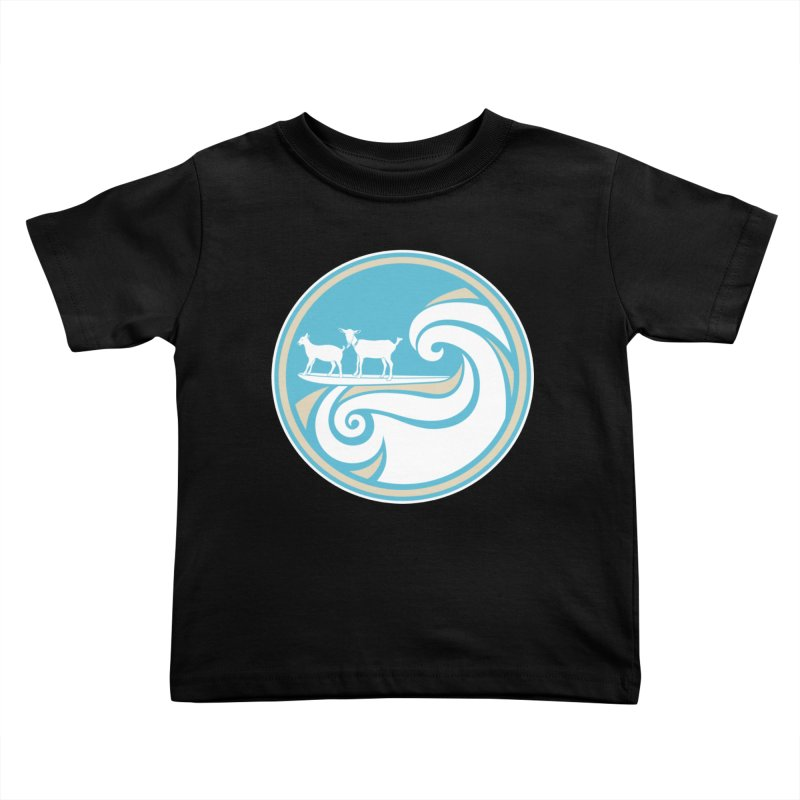 Shredding the Gnar Kids Toddler T-Shirt by ishCreatives's Artist Shop