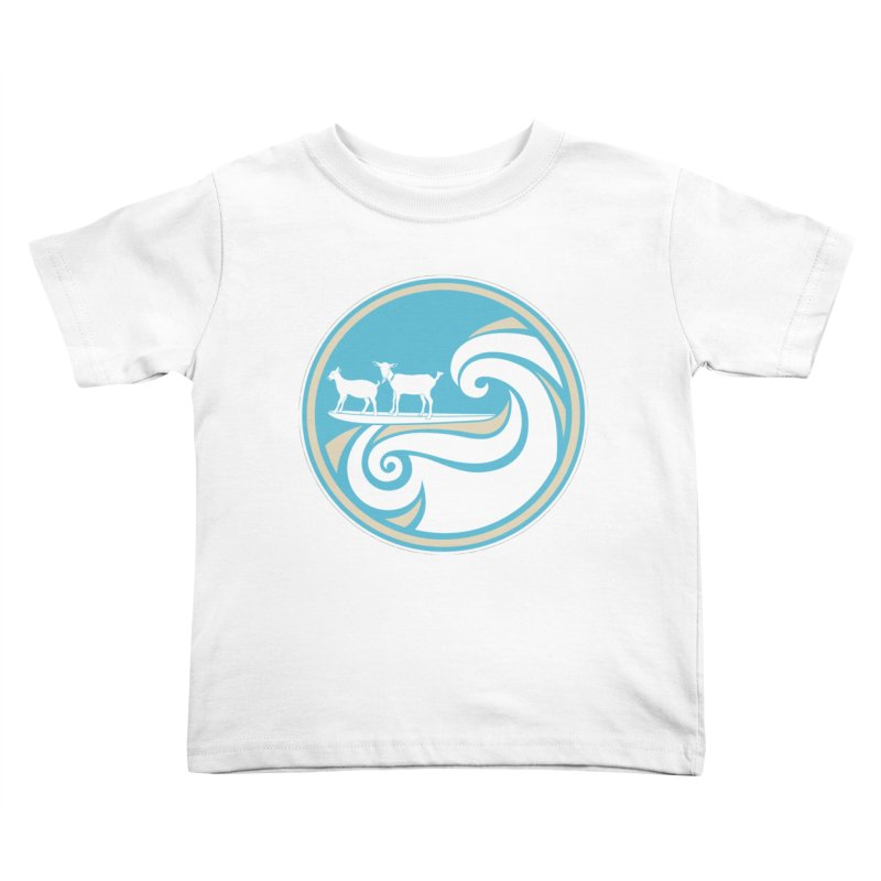 Shredding the Gnar Kids Toddler T-Shirt by ishCreatives's Artist Shop