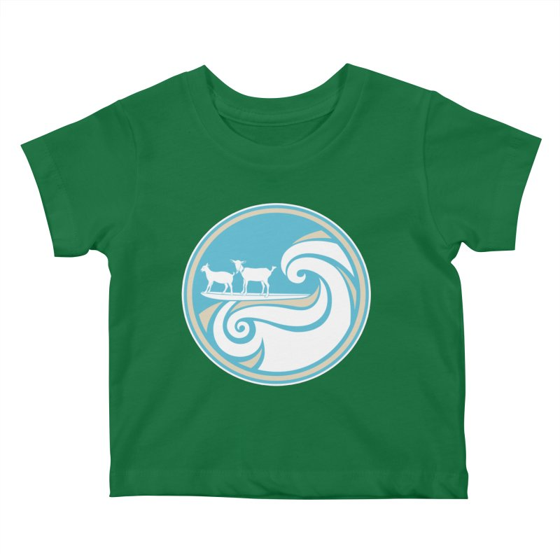 Shredding the Gnar Kids Baby T-Shirt by ishCreatives's Artist Shop