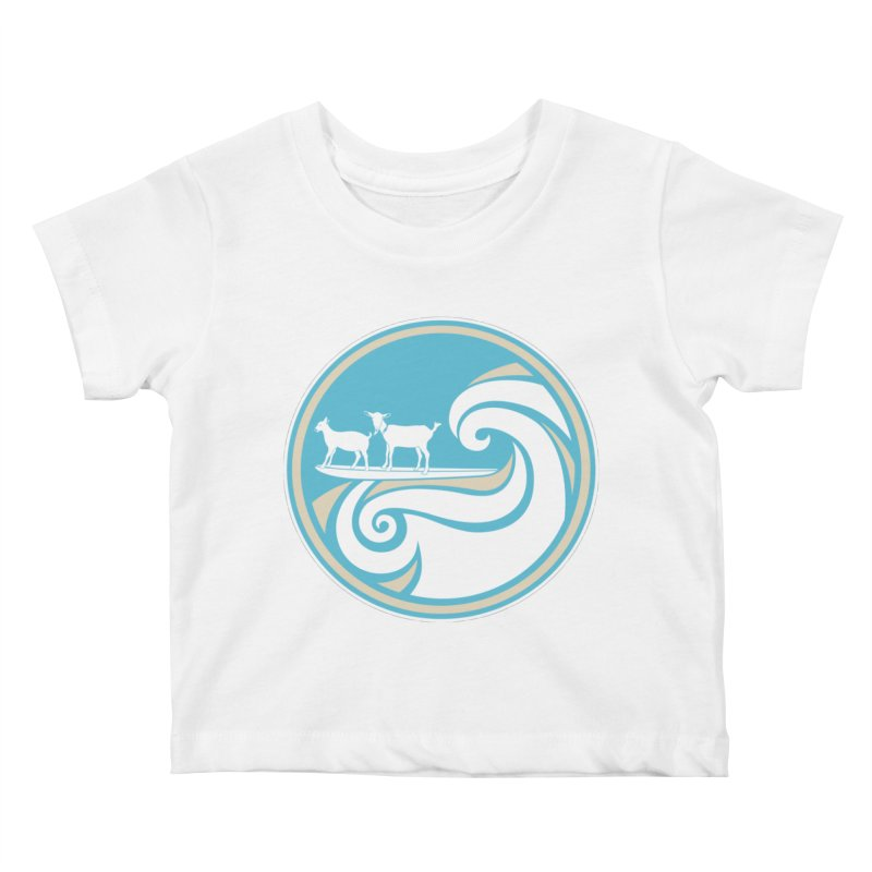 Shredding the Gnar Kids Baby T-Shirt by ishCreatives's Artist Shop