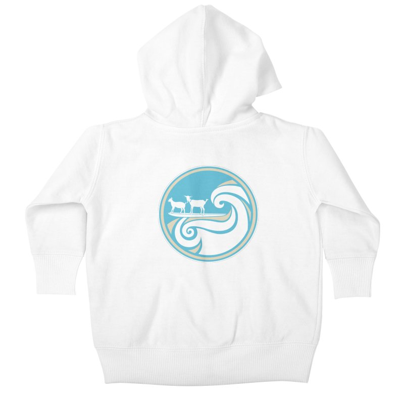 Shredding the Gnar Kids Baby Zip-Up Hoody by ishCreatives's Artist Shop