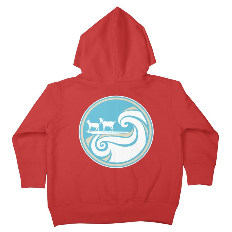 Shredding the Gnar Kids Toddler Zip-Up Hoody by ishCreatives's Artist Shop