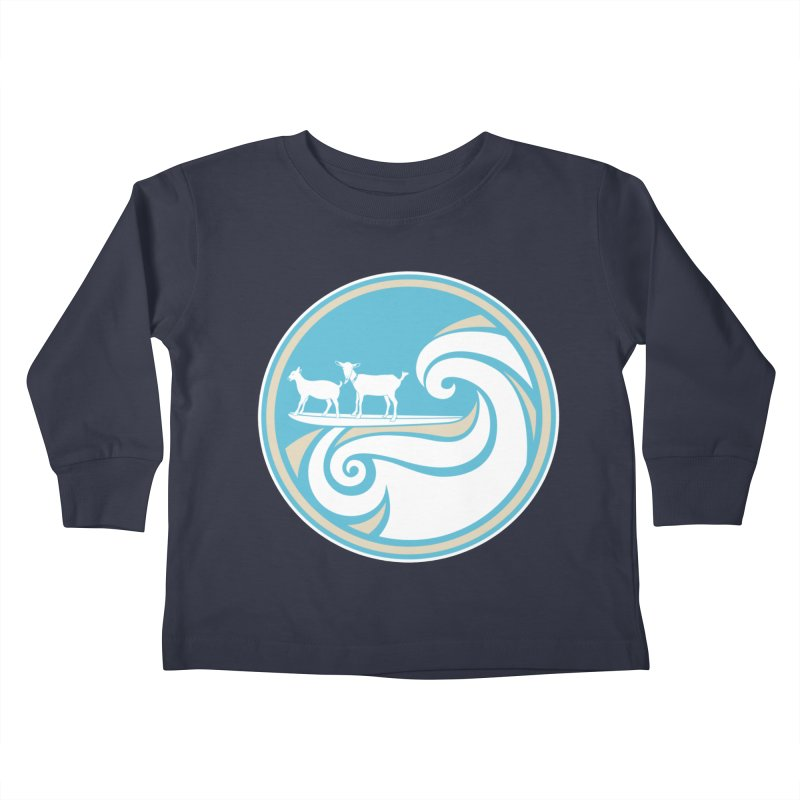 Shredding the Gnar Kids Toddler Longsleeve T-Shirt by ishCreatives's Artist Shop