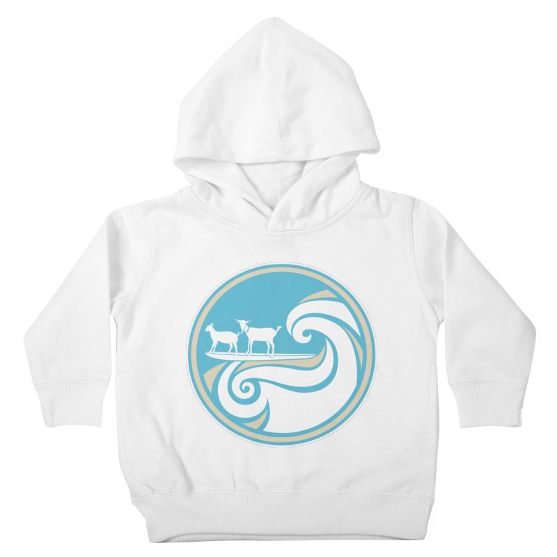 Shredding the Gnar Kids Toddler Pullover Hoody by ishCreatives's Artist Shop