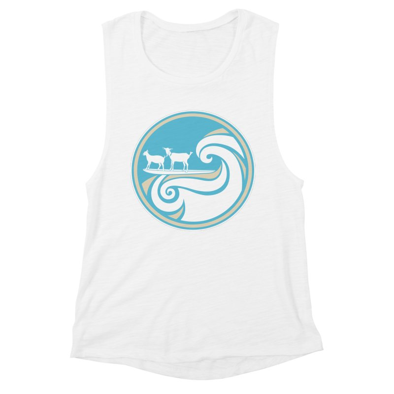 Shredding the Gnar Women's Muscle Tank by ishCreatives's Artist Shop