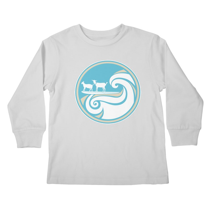 Shredding the Gnar Kids Longsleeve T-Shirt by ishCreatives's Artist Shop