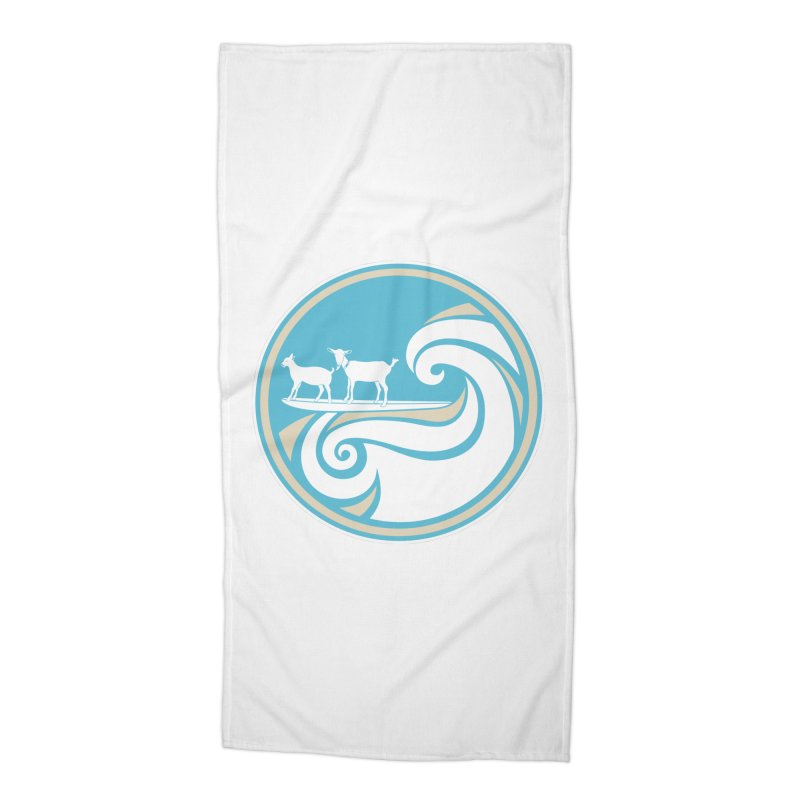Shredding the Gnar Accessories Beach Towel by ishCreatives's Artist Shop