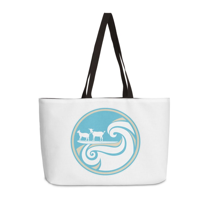 Shredding the Gnar Accessories Weekender Bag Bag by ishCreatives's Artist Shop